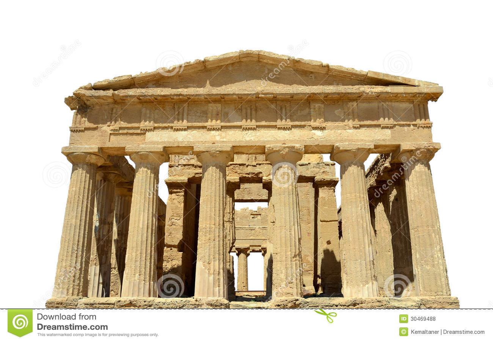 Oude griekse tempel royalty vrije stock foto 39 s afbeelding 30469488 - Oude griekse decoratie ...