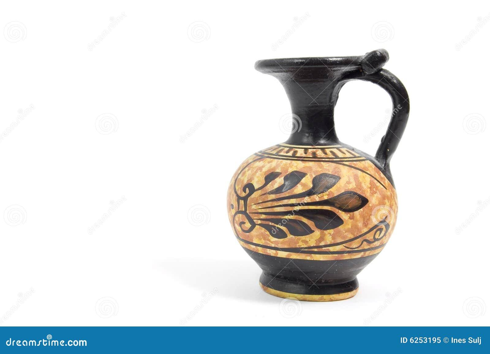Oude griekse vaas royalty vrije stock foto afbeelding 6253195 - Oude griekse decoratie ...
