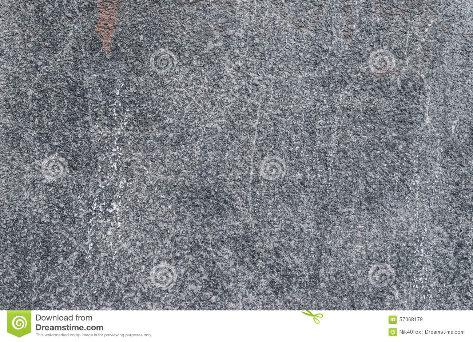 Oude grunge abstracte concrete textuur met deuken