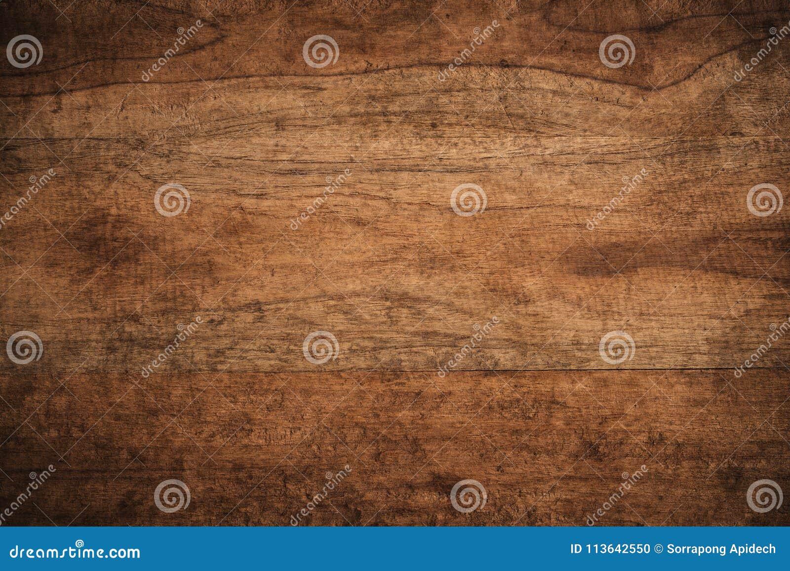 Oude grunge donkere geweven houten achtergrond, de oppervlakte van ol