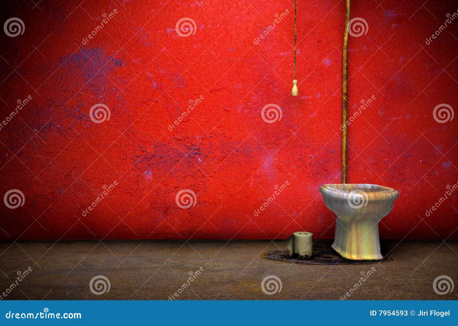 Oude grungebadkamers stock foto 39 s afbeelding 7954593 - Decoratie toilet ontwerp ...