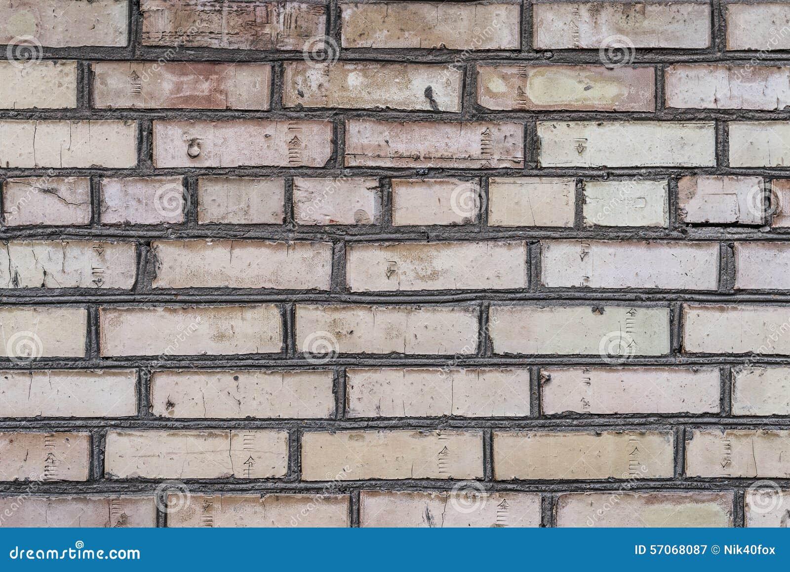Oude grungebakstenen muur