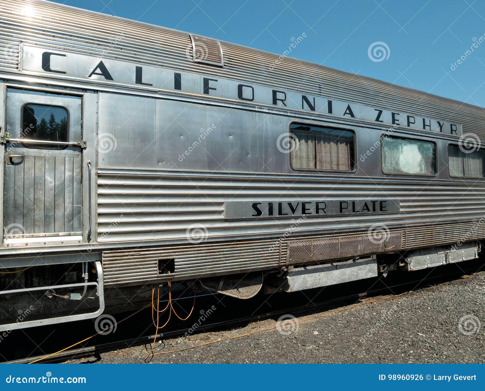 Oude het Zefierauto van Californië
