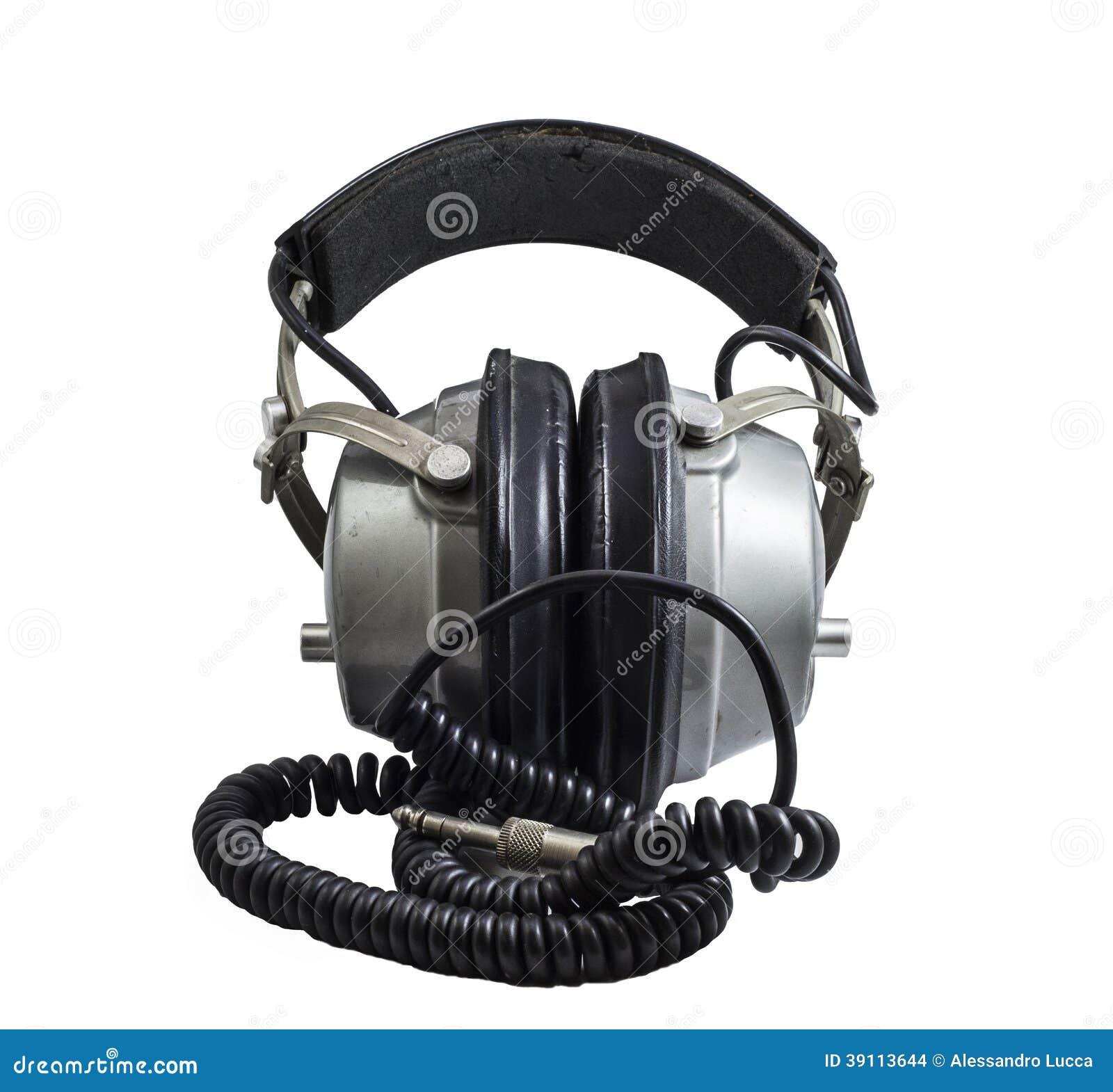 Oude hoofdtelefoons