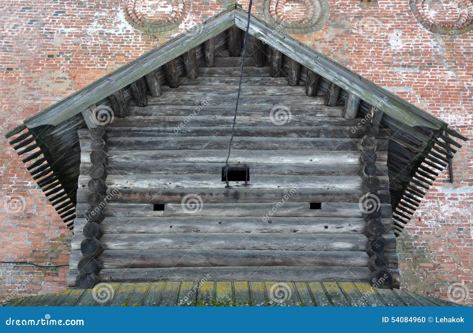 Oude houten izba