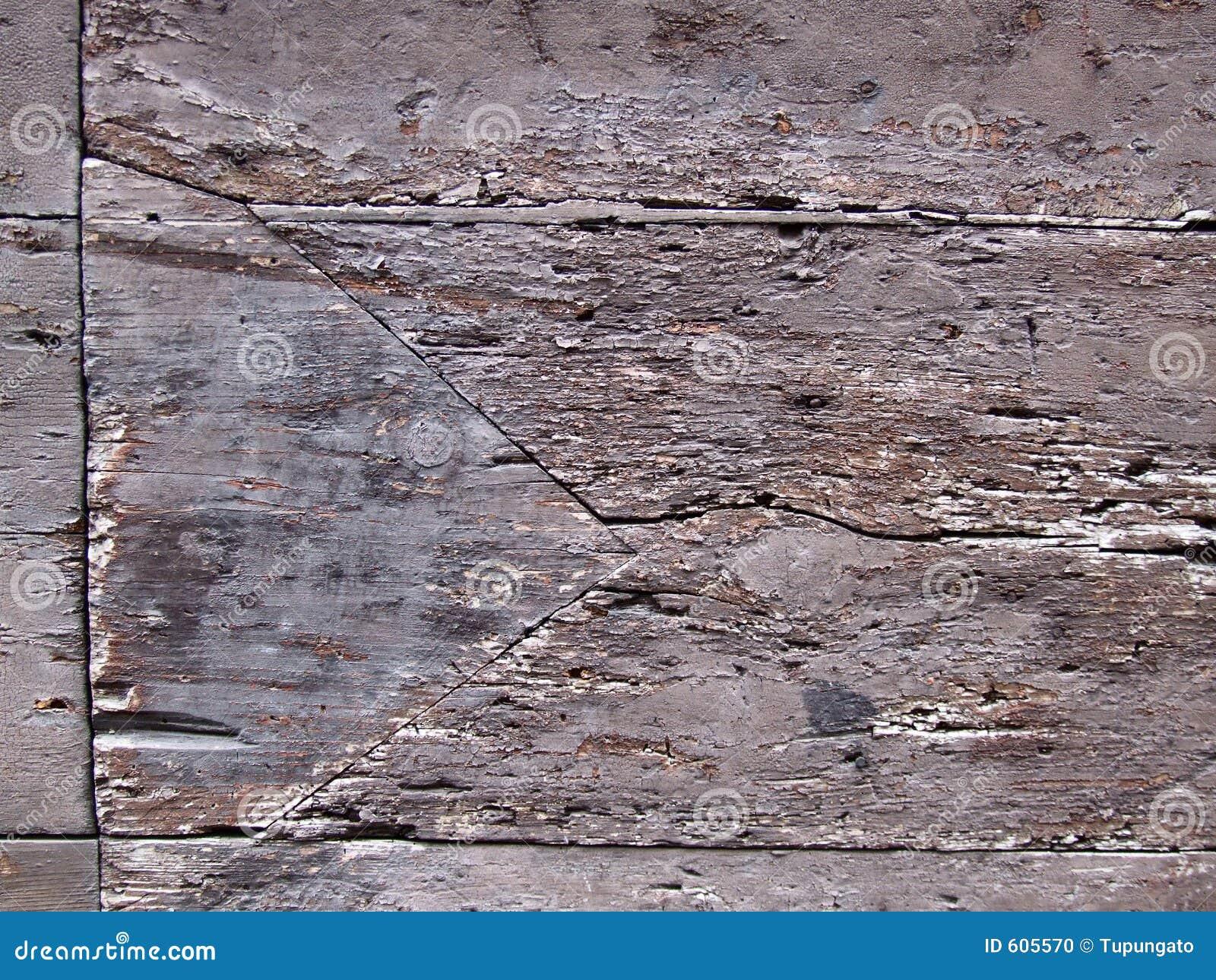 Oude houten oppervlakte