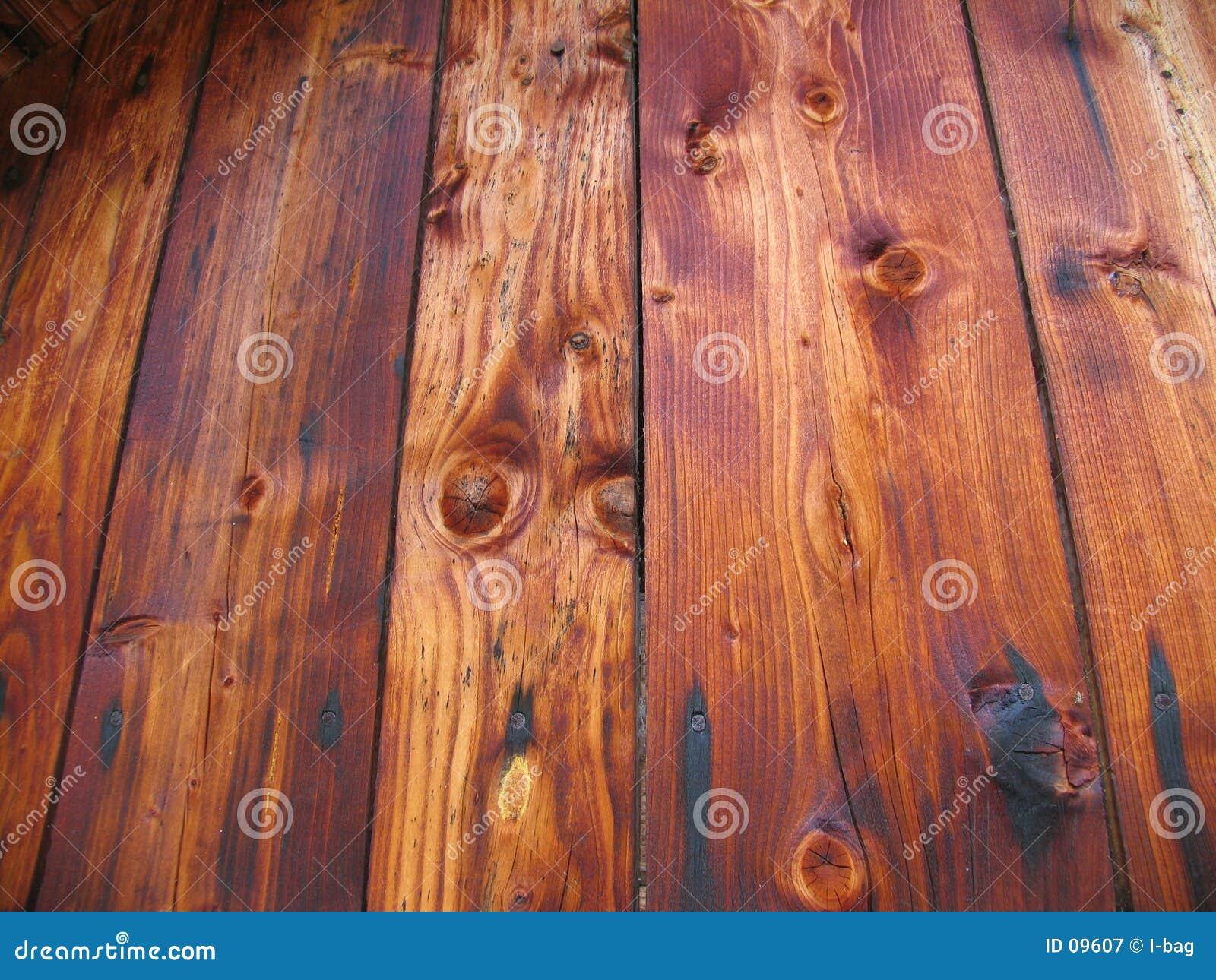 Oude houten plancks