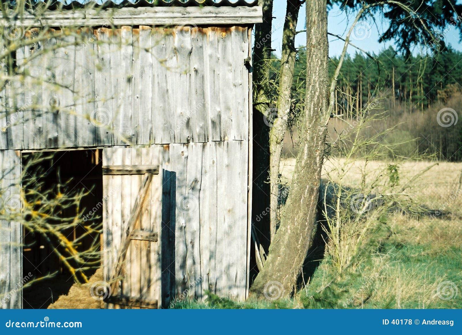 Oude hut