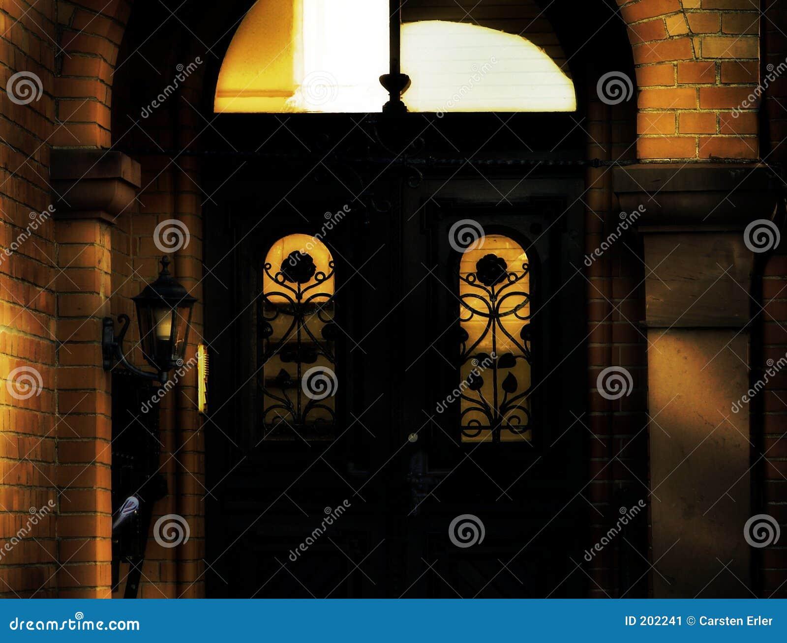 Oude ingang