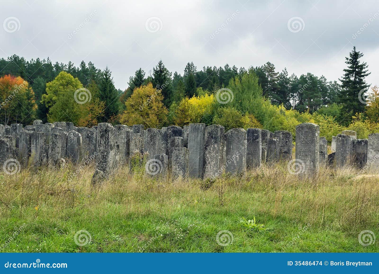 Oude Joodse begraafplaats, Brody, de Oekraïne