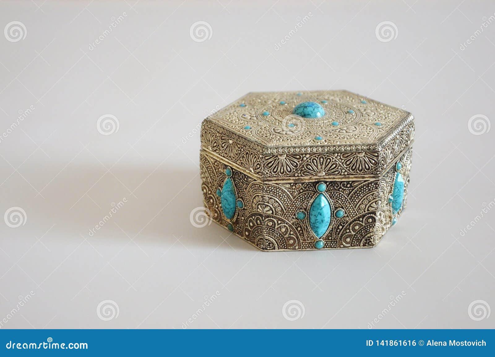Oude juwelendoos