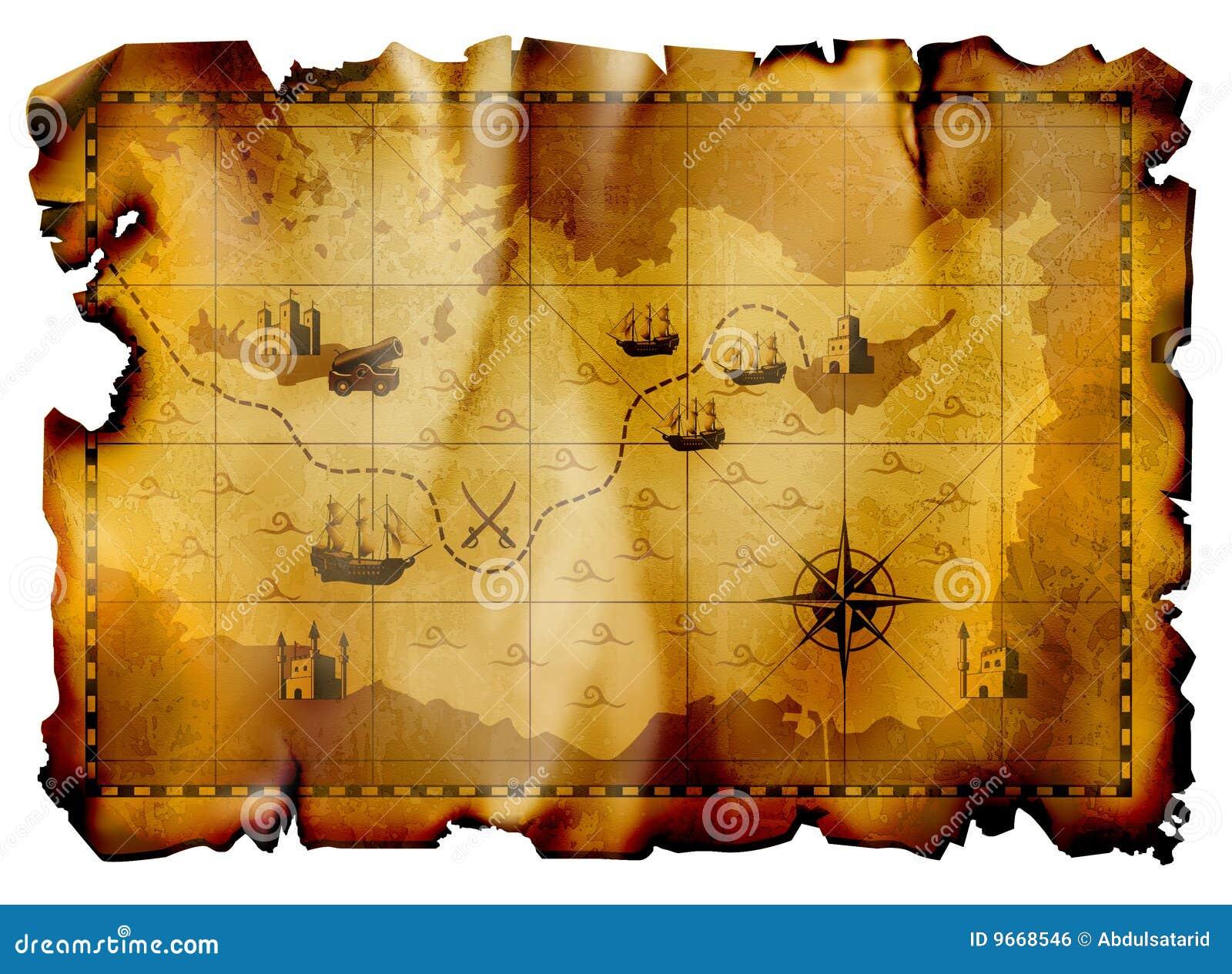 Oude kaart