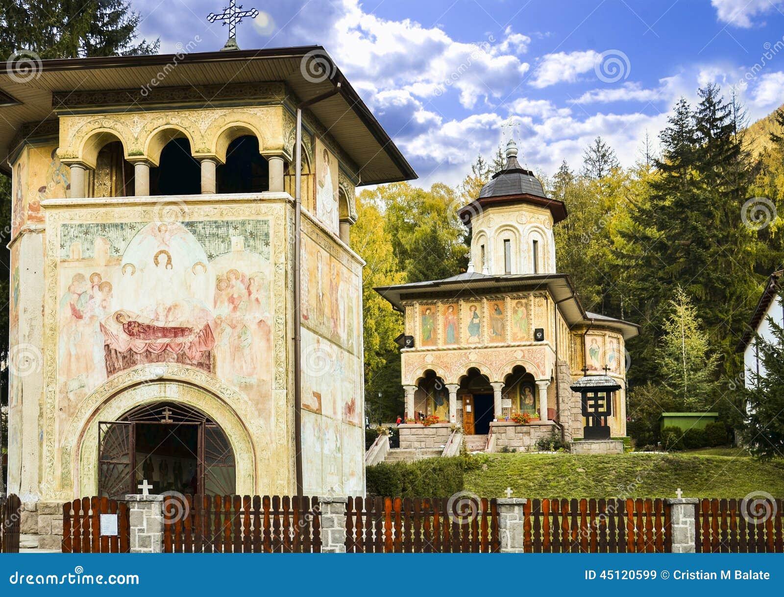 Oude kerk in Tusnad Roemenië