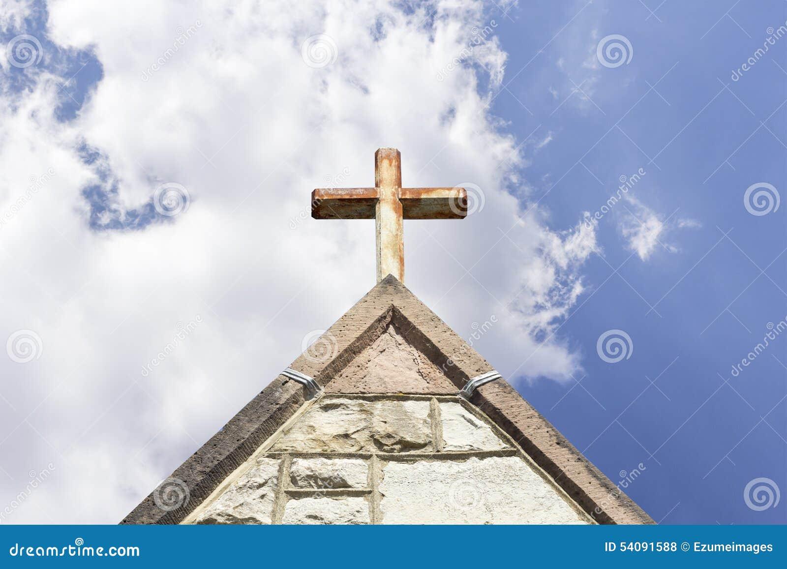 Oude kerktorenspits