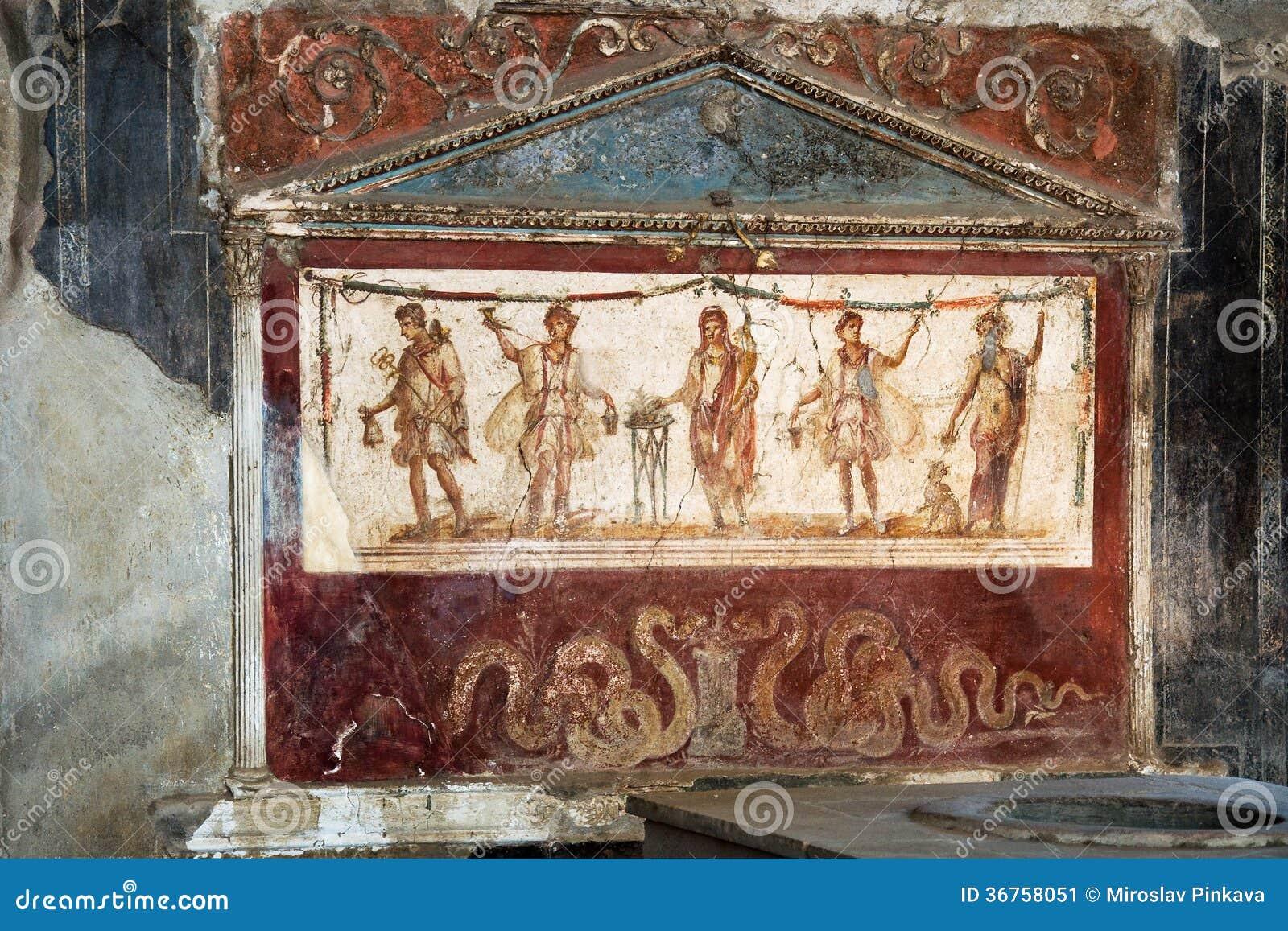 Oude keuken in pompei stock afbeelding afbeelding 36758051 - Oude keuken decoratie ...
