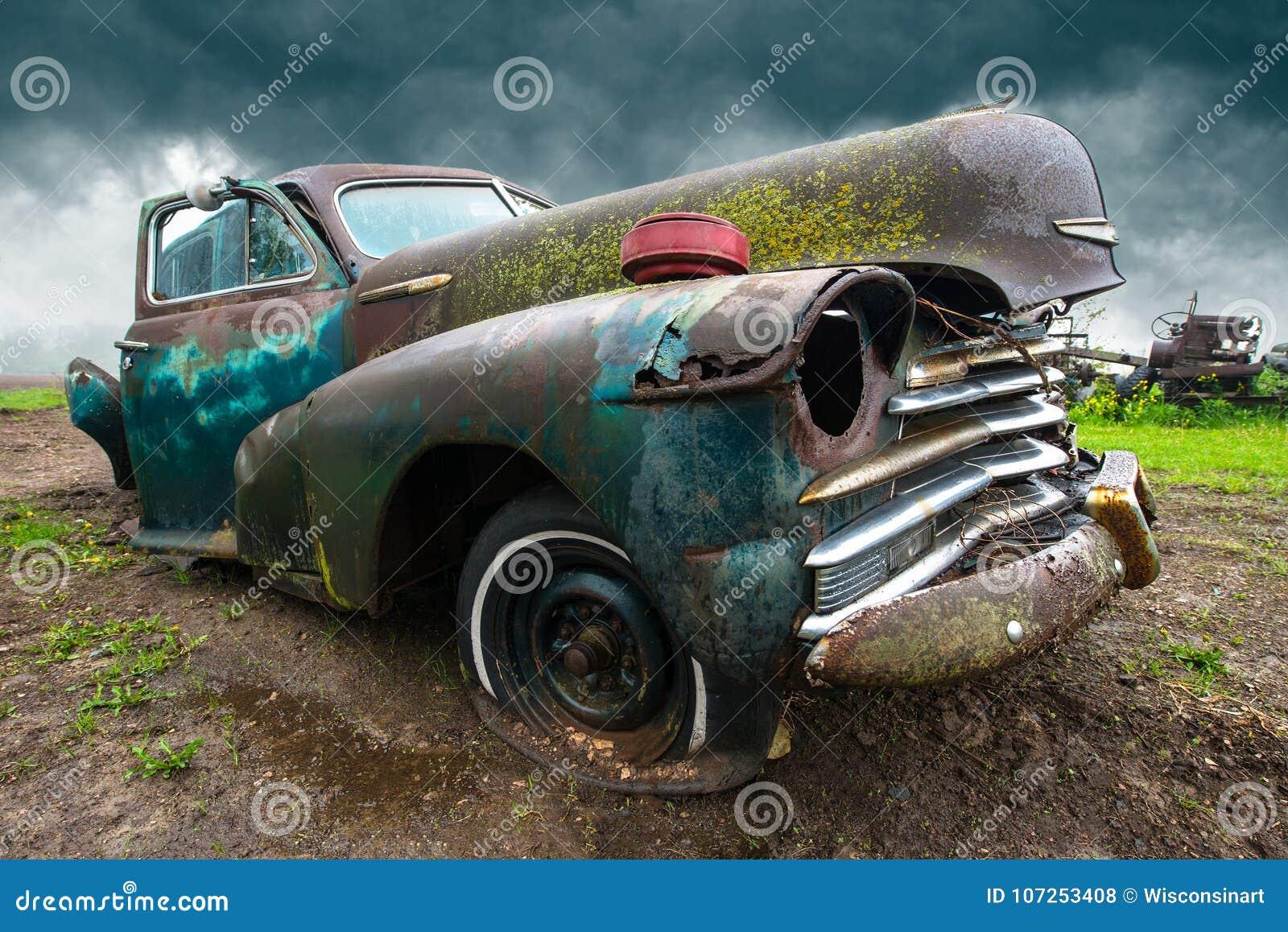 Oude Klassieke Auto, Troepwerf