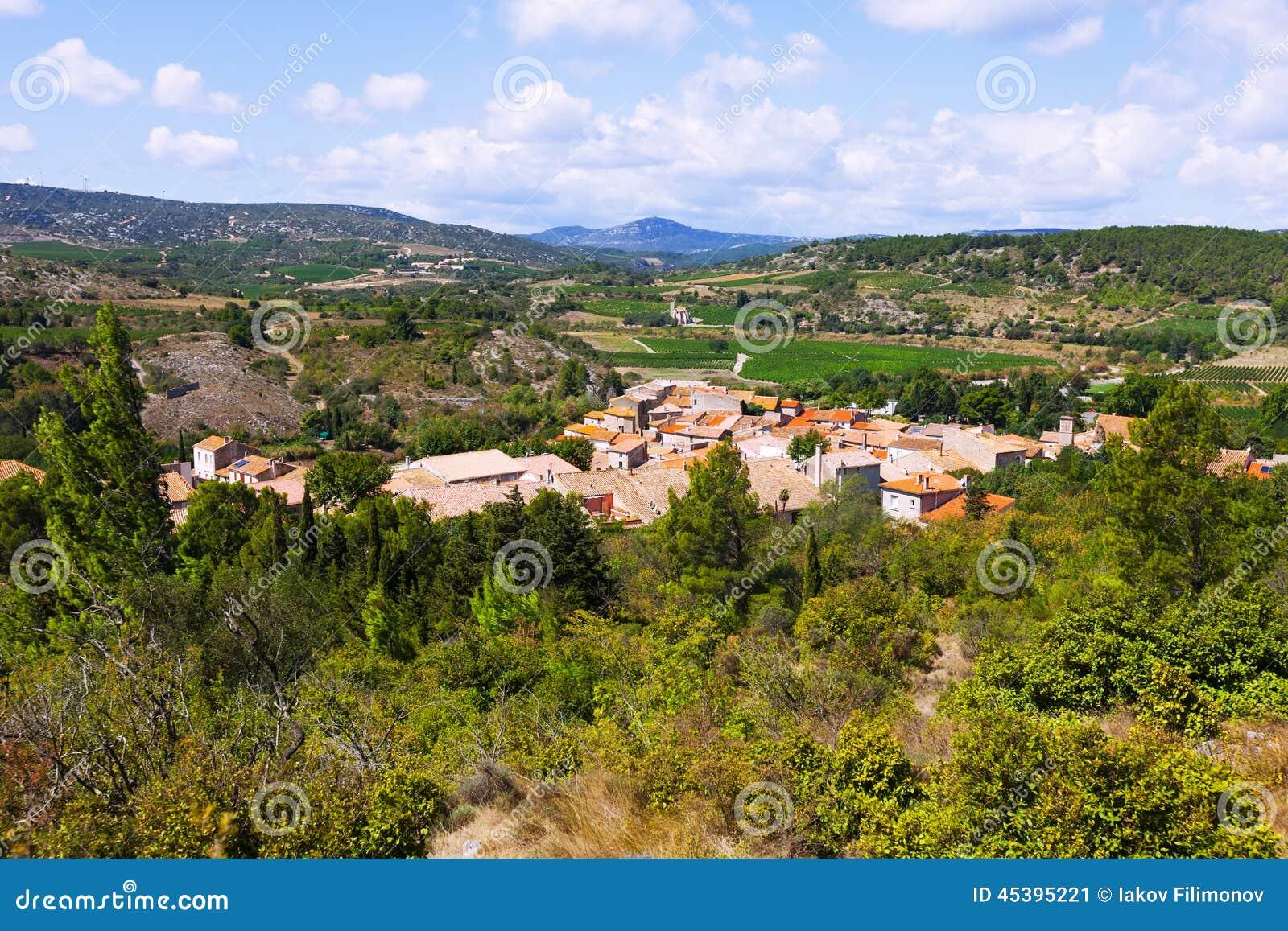 Oude kleine stad Portel-des-Corbieres