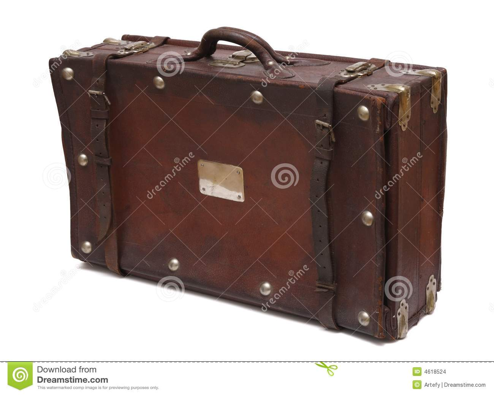 oude koffer stock afbeeldingen afbeelding 4618524. Black Bedroom Furniture Sets. Home Design Ideas
