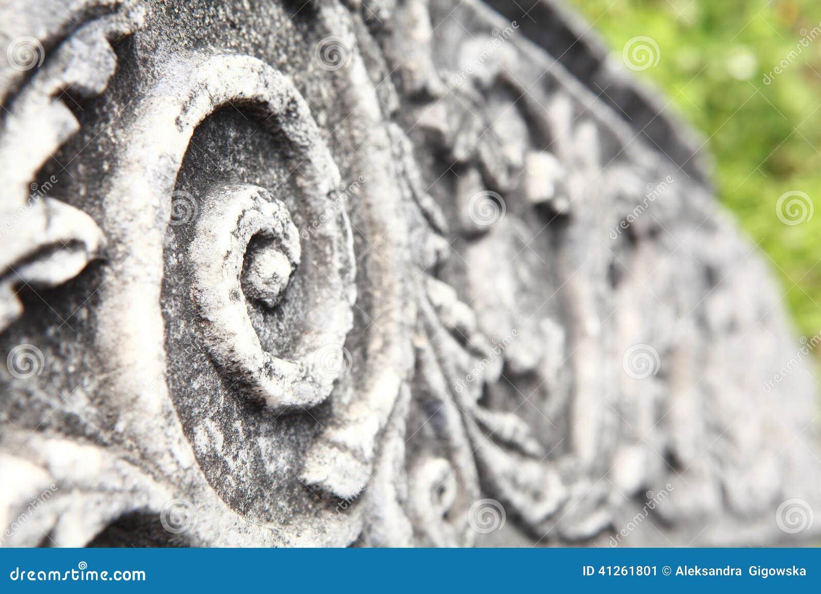 Oude kolom in archeologisch museum in Olympia Griekenland