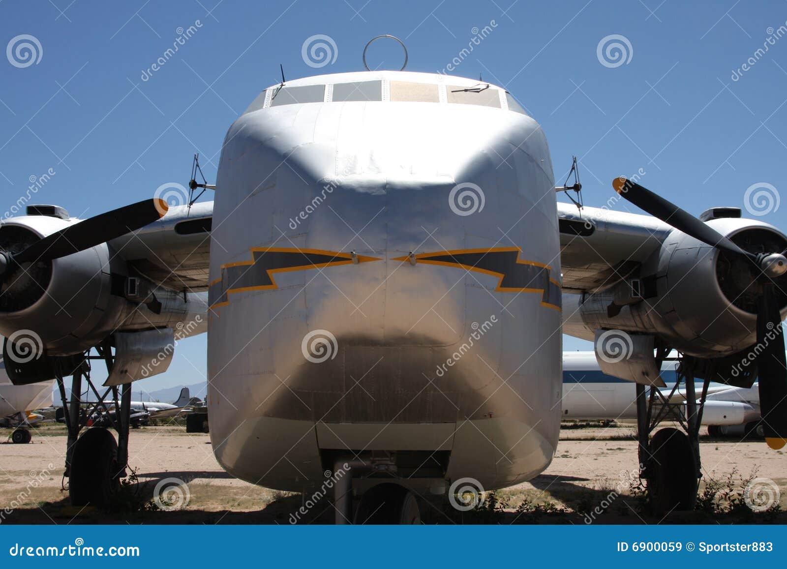 Oude ladingsvliegtuigen