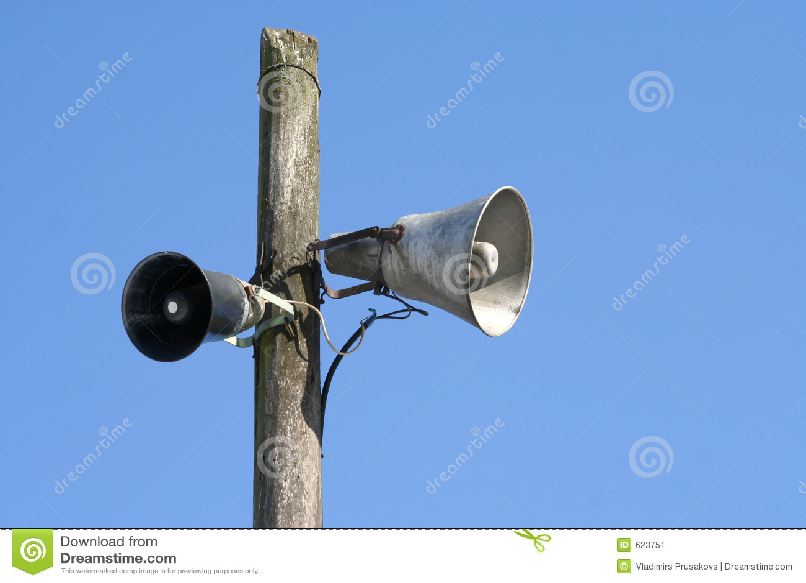 Oude luidsprekers