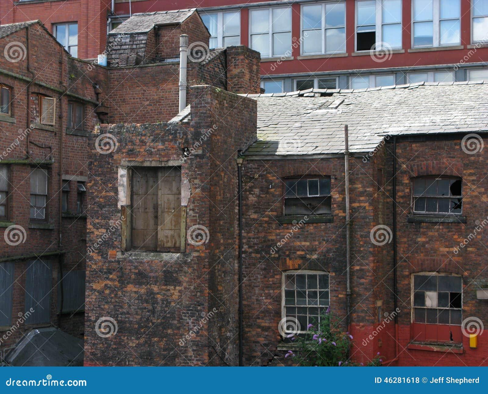 Oude molen Manchester