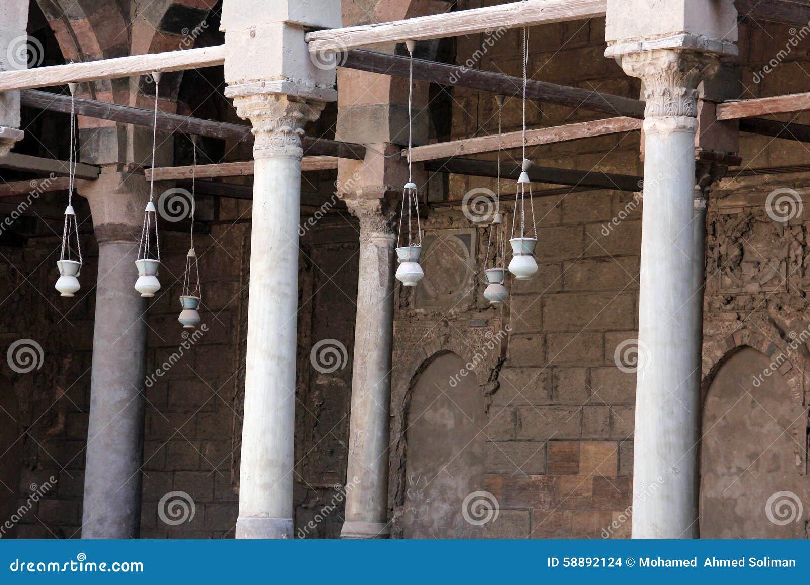 Oude moskee in Kaïro