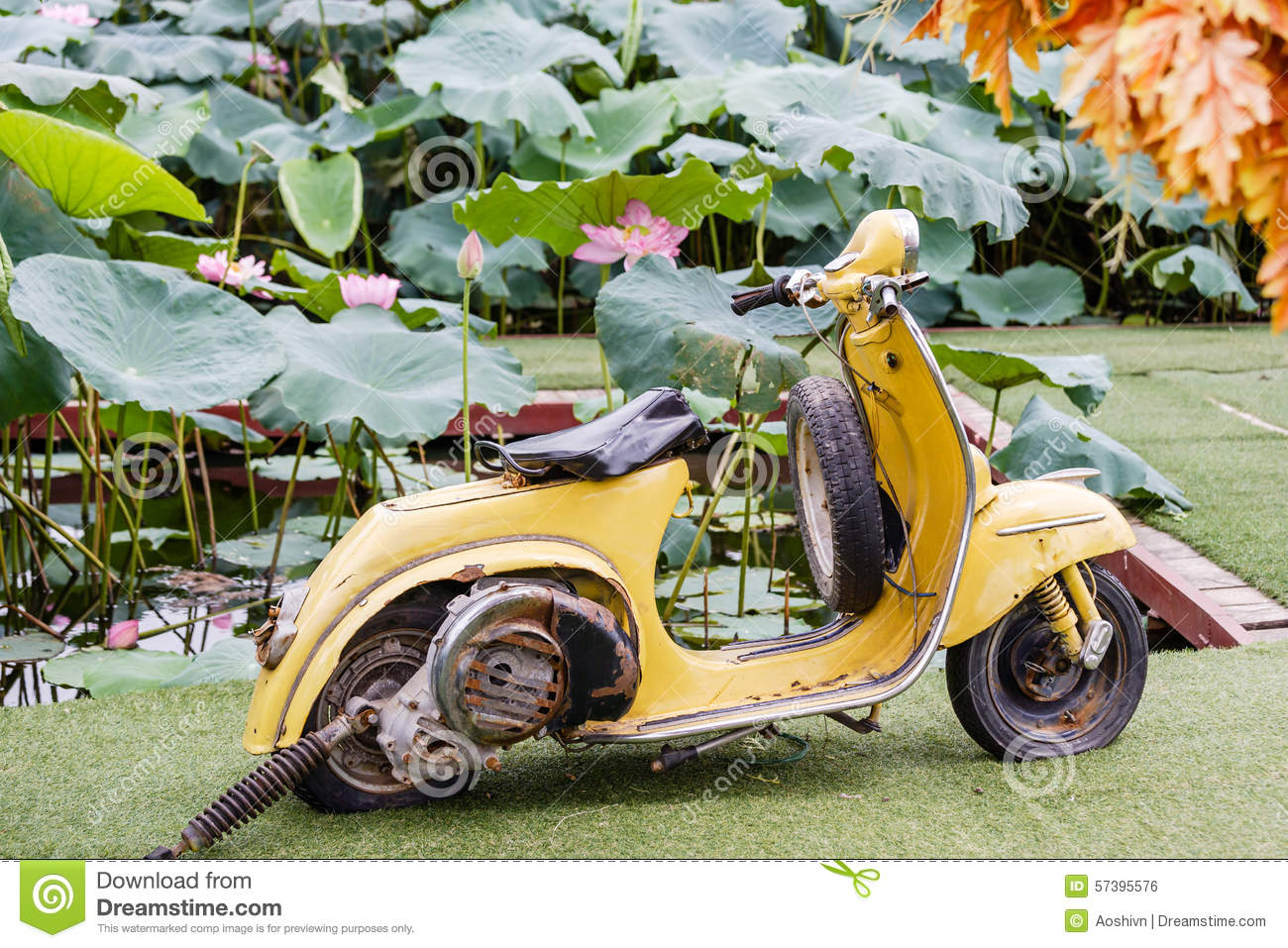 Oude motorbycycle