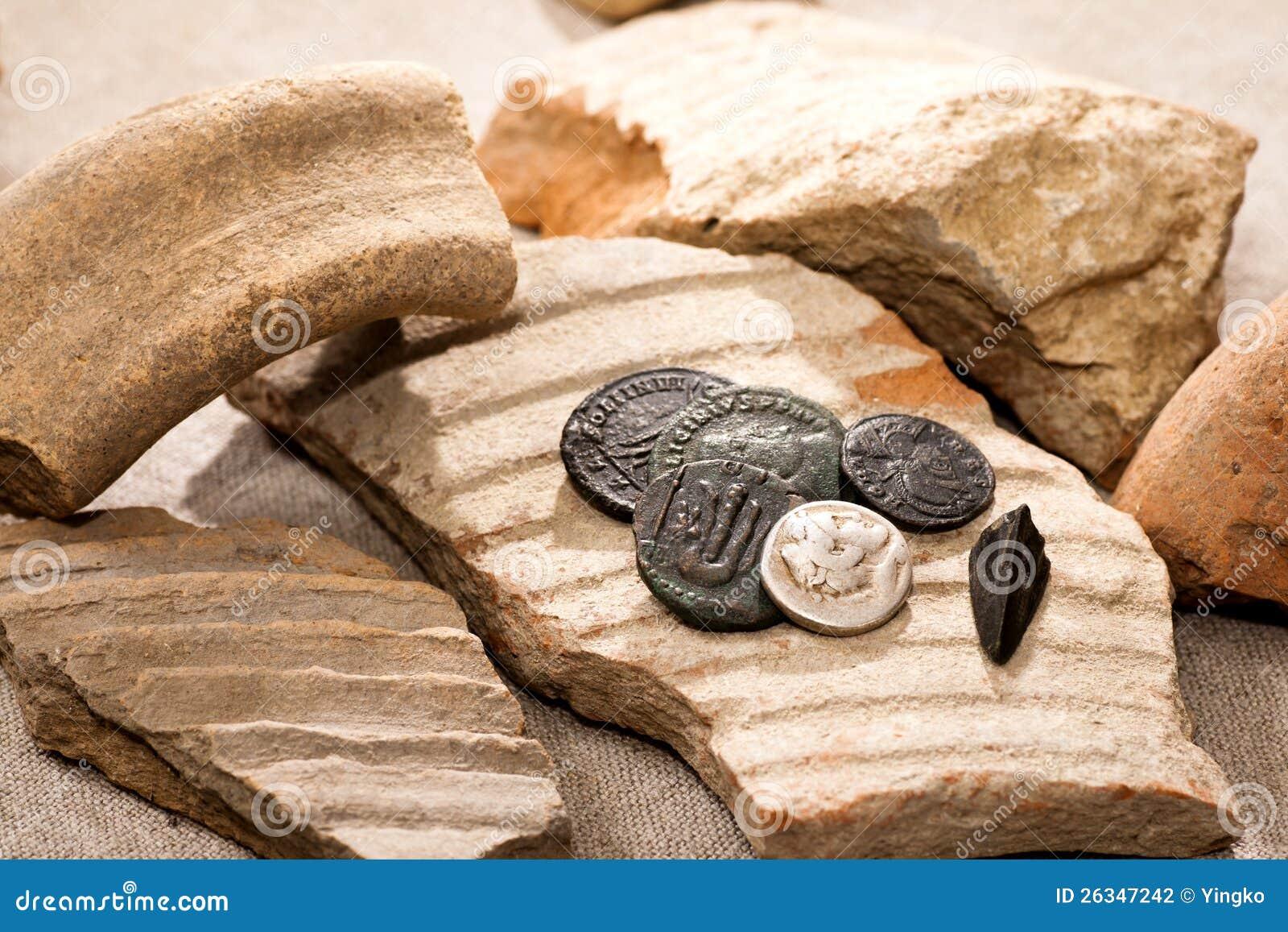 Oude muntstukken