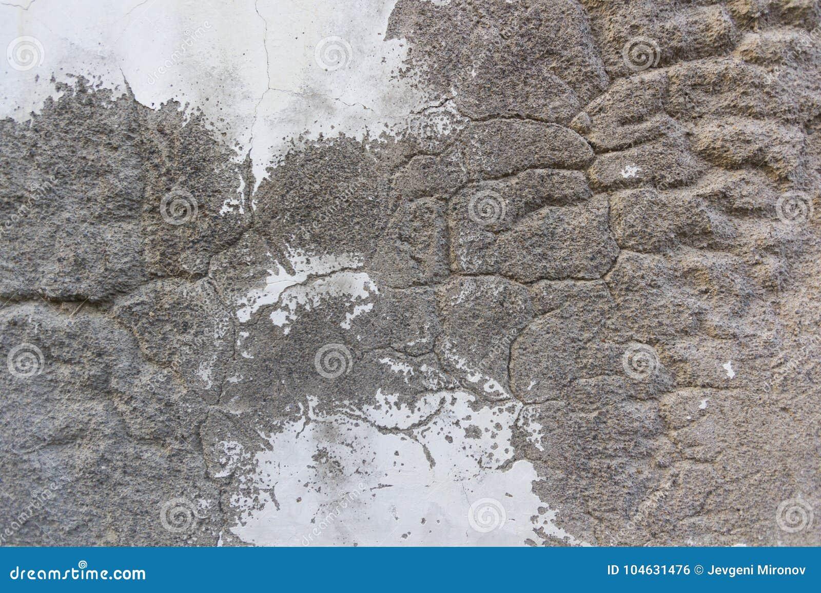 Download Oude muurtextuur stock foto. Afbeelding bestaande uit gebarsten - 104631476