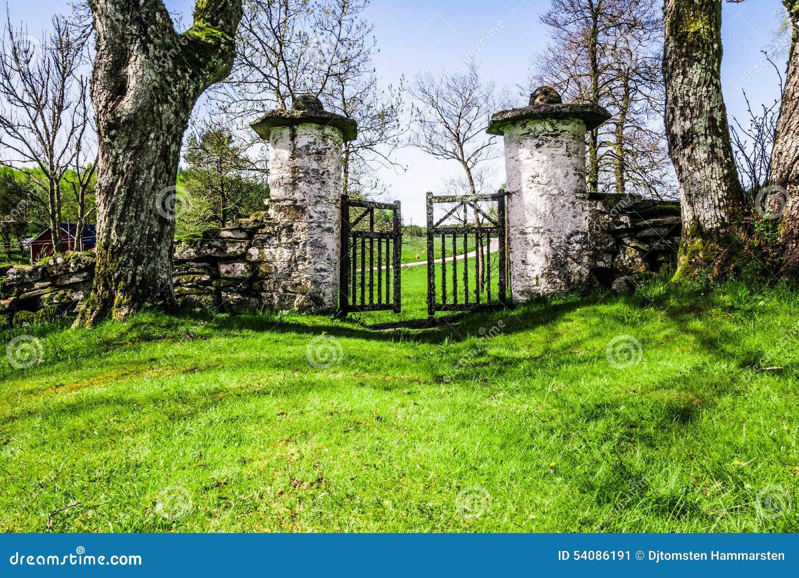 Oude poort