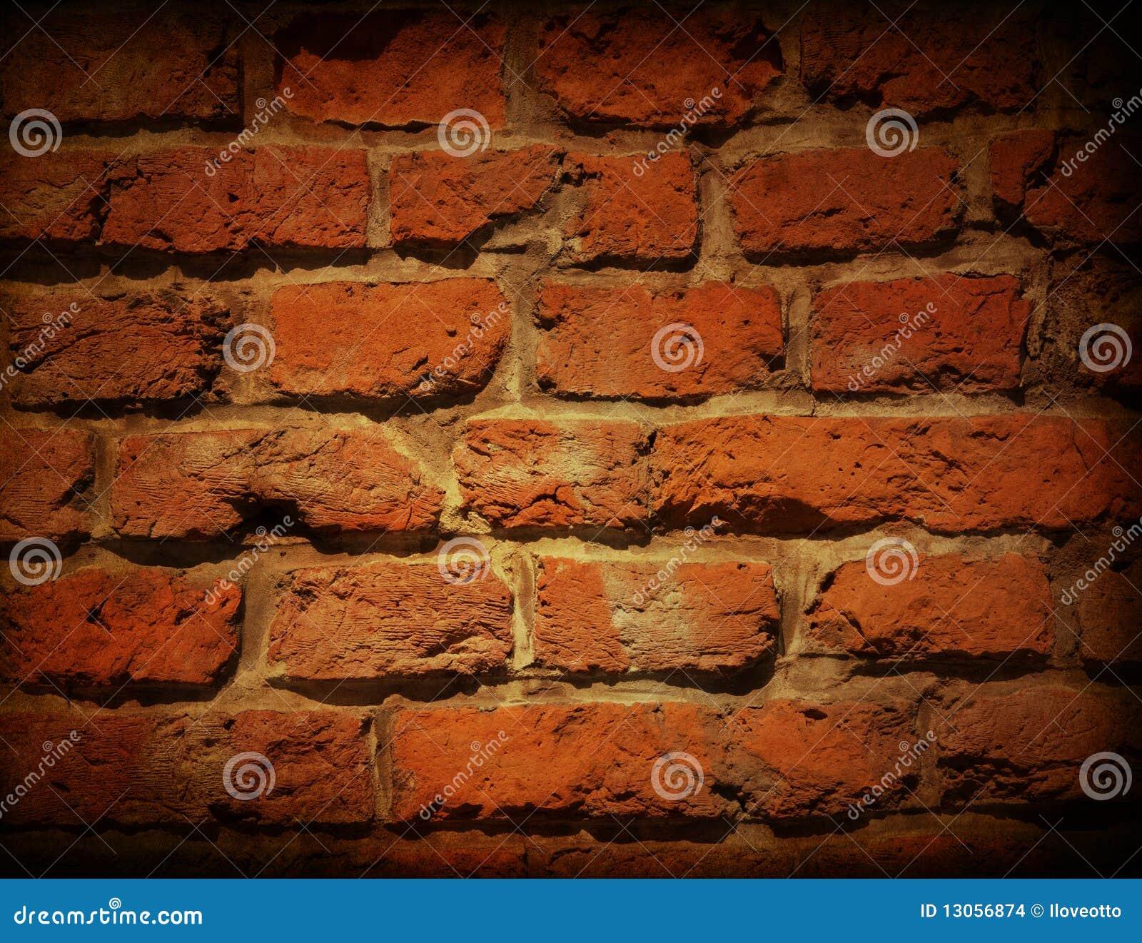 Oude rode bakstenen muur stock afbeeldingen afbeelding 13056874 - Rode bakstenen lounge ...