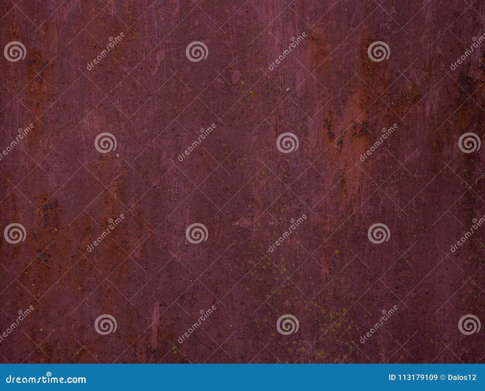 Oude roestige metaaltextuur als achtergrond