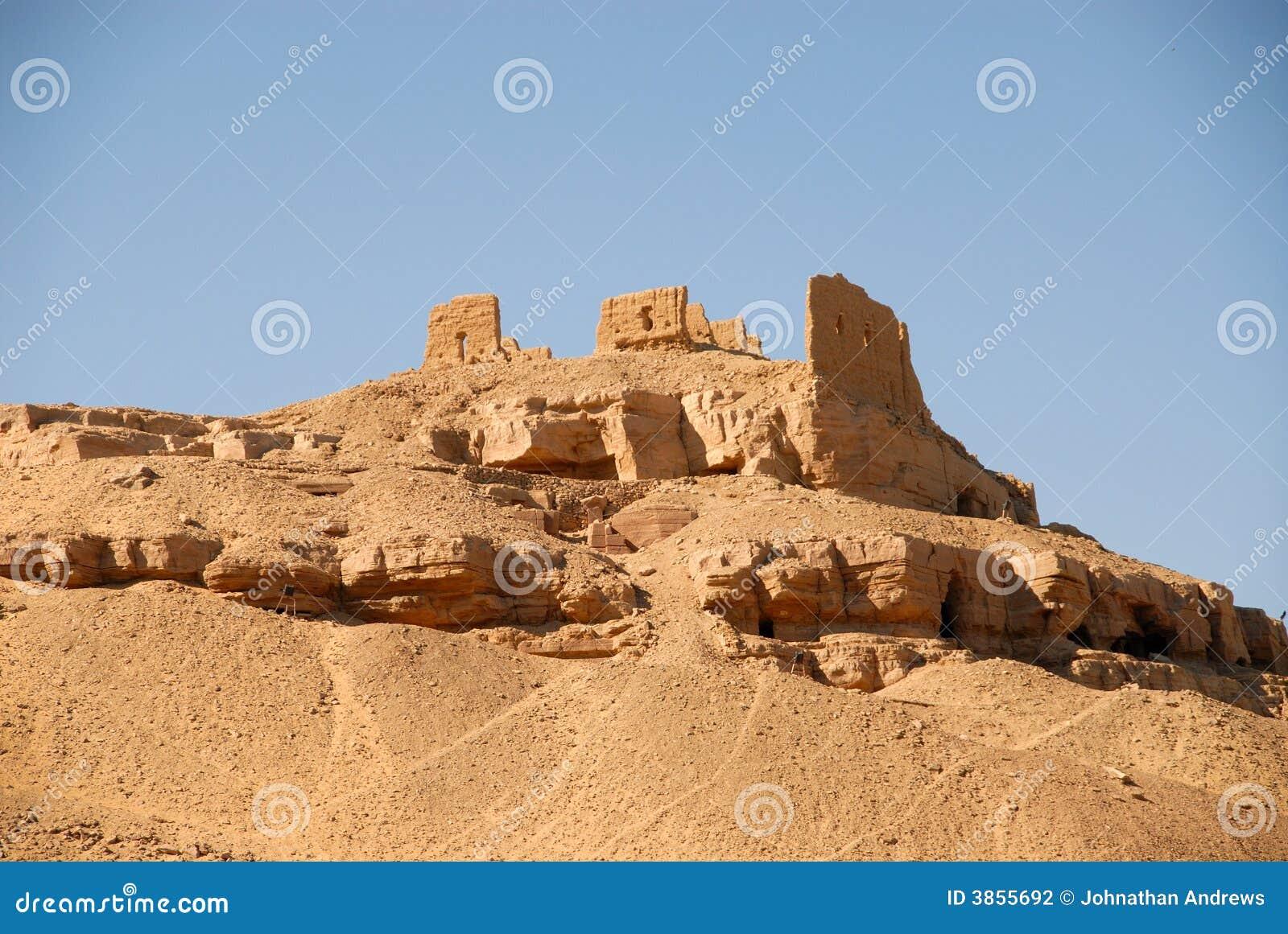 Oude Ruïnes in Aswan