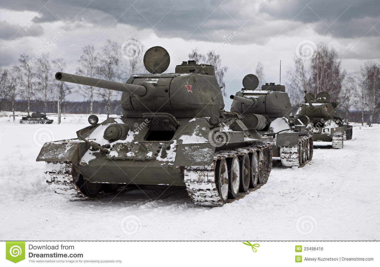 Russian tank t34 royalty free stock images image 23498479 - Oude Russische Tanks Royalty Vrije Stock Afbeelding