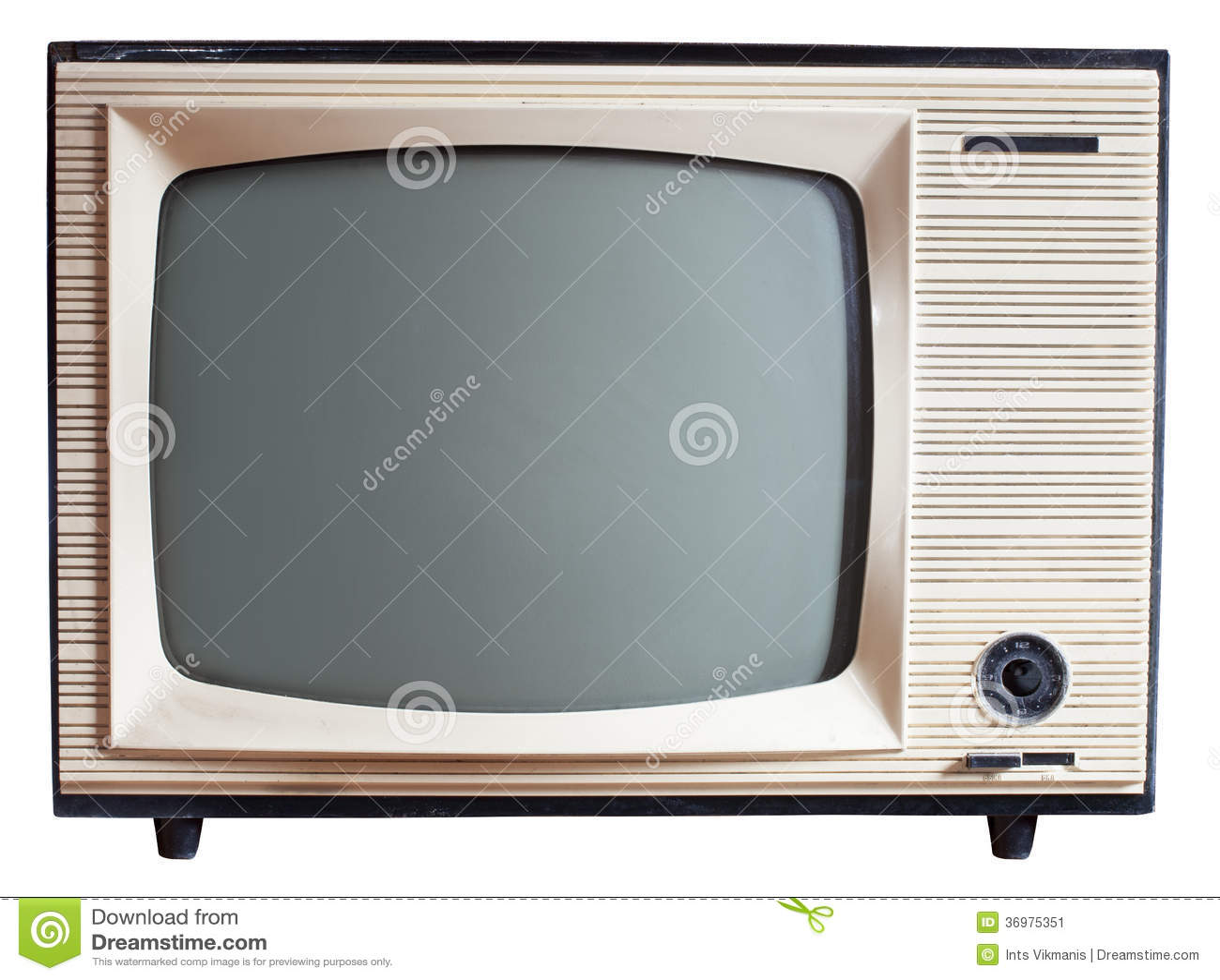 Oude Russische Televisie