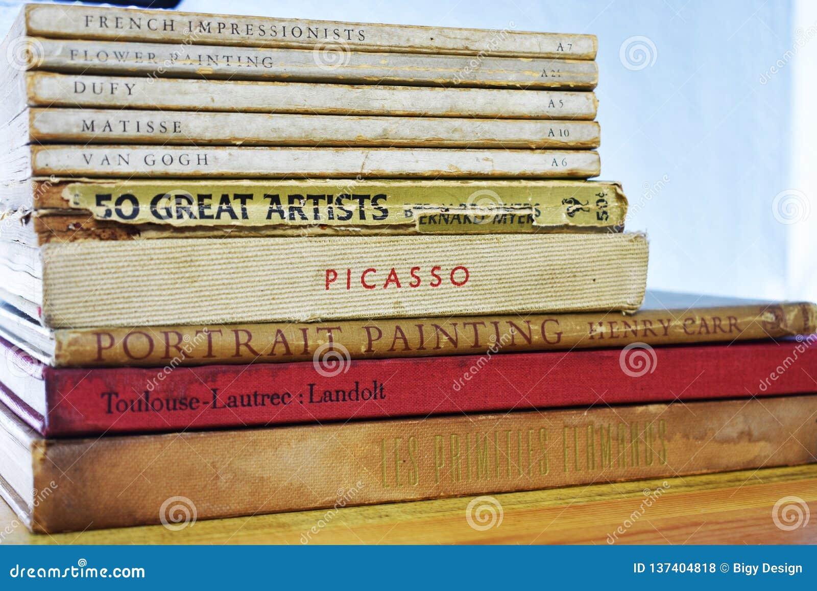 Oude Schilder Books - Dufy, Matisse, Van Gogh Picasso