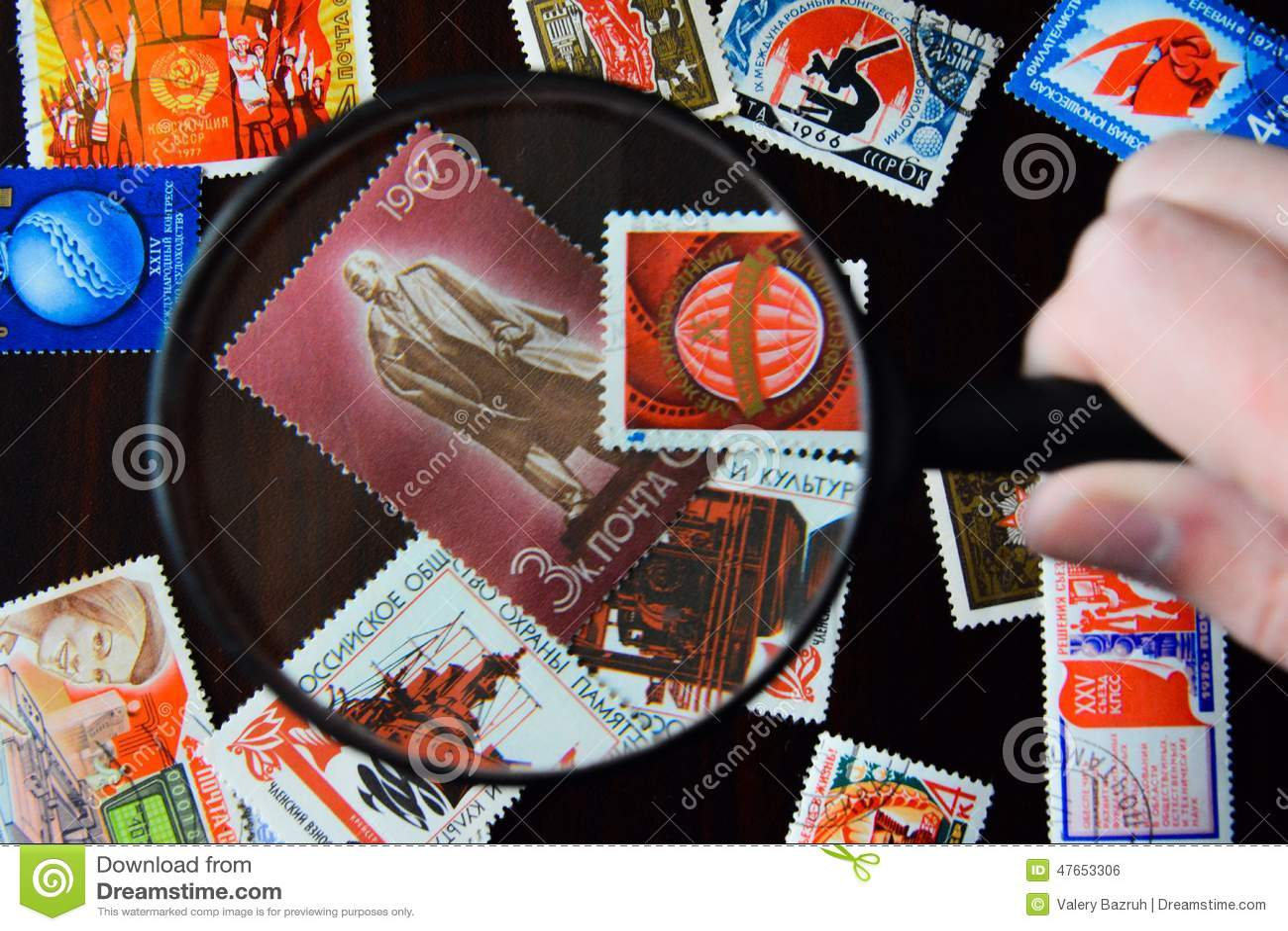 Oude Sovjetpostzegels