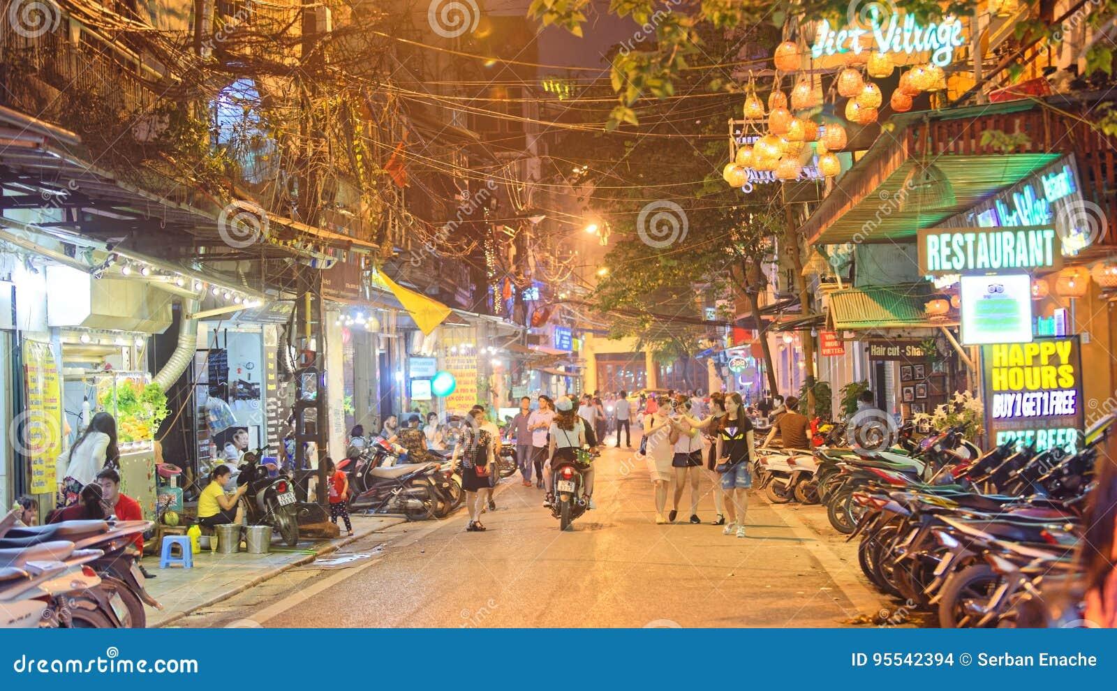 Oude stad van Hanoi