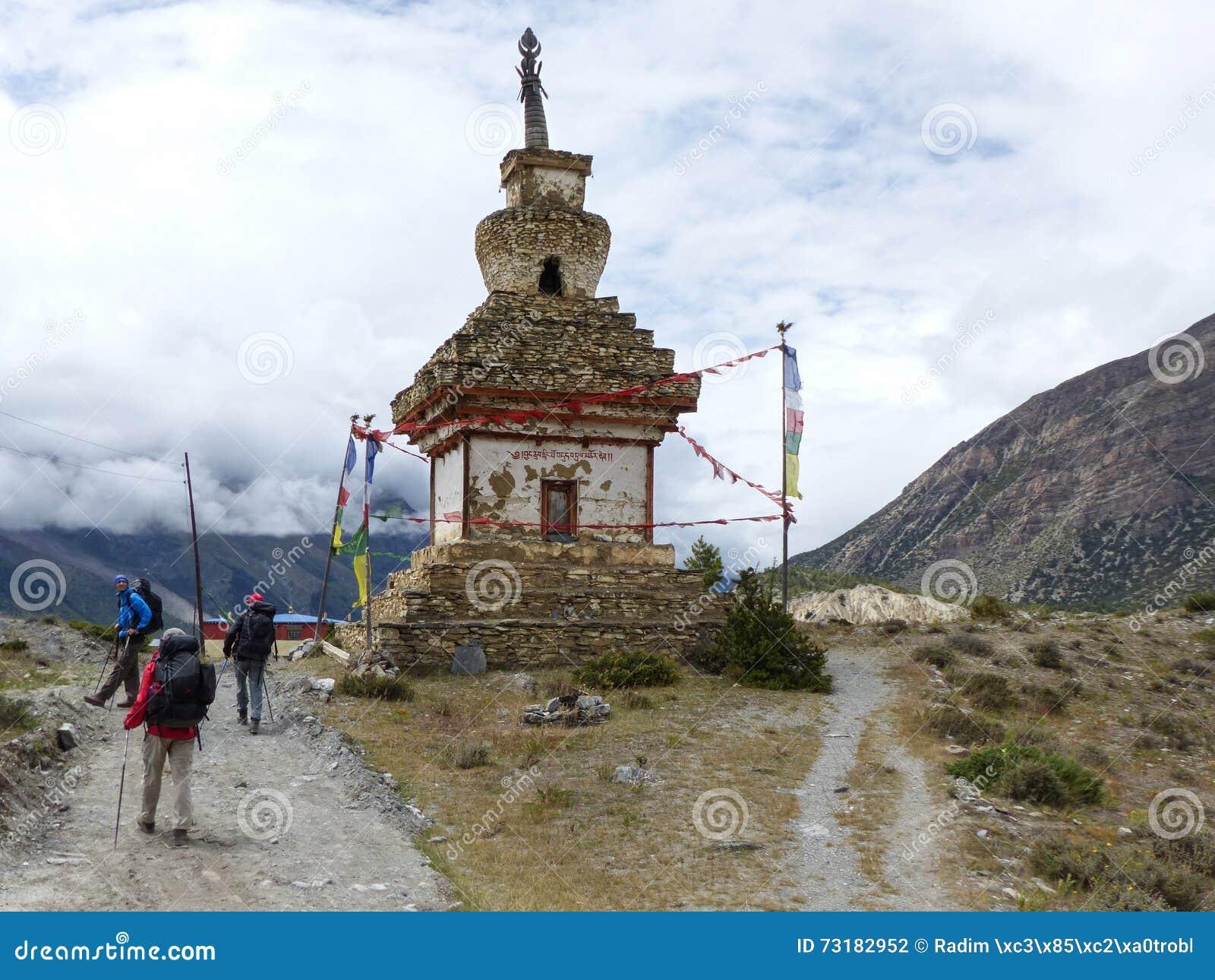 Oude Steenachtige Stupa