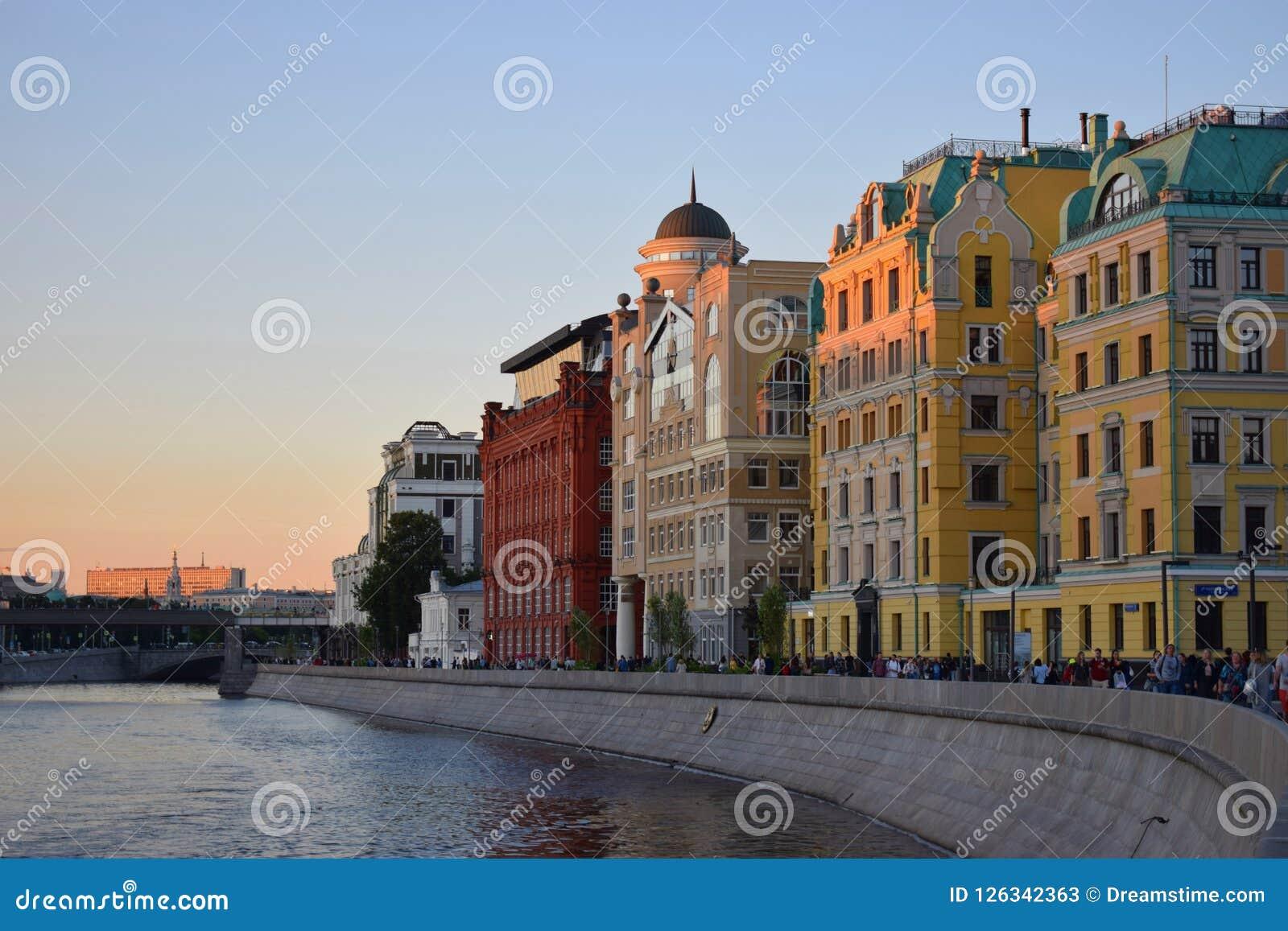 Oude straat in Moskou