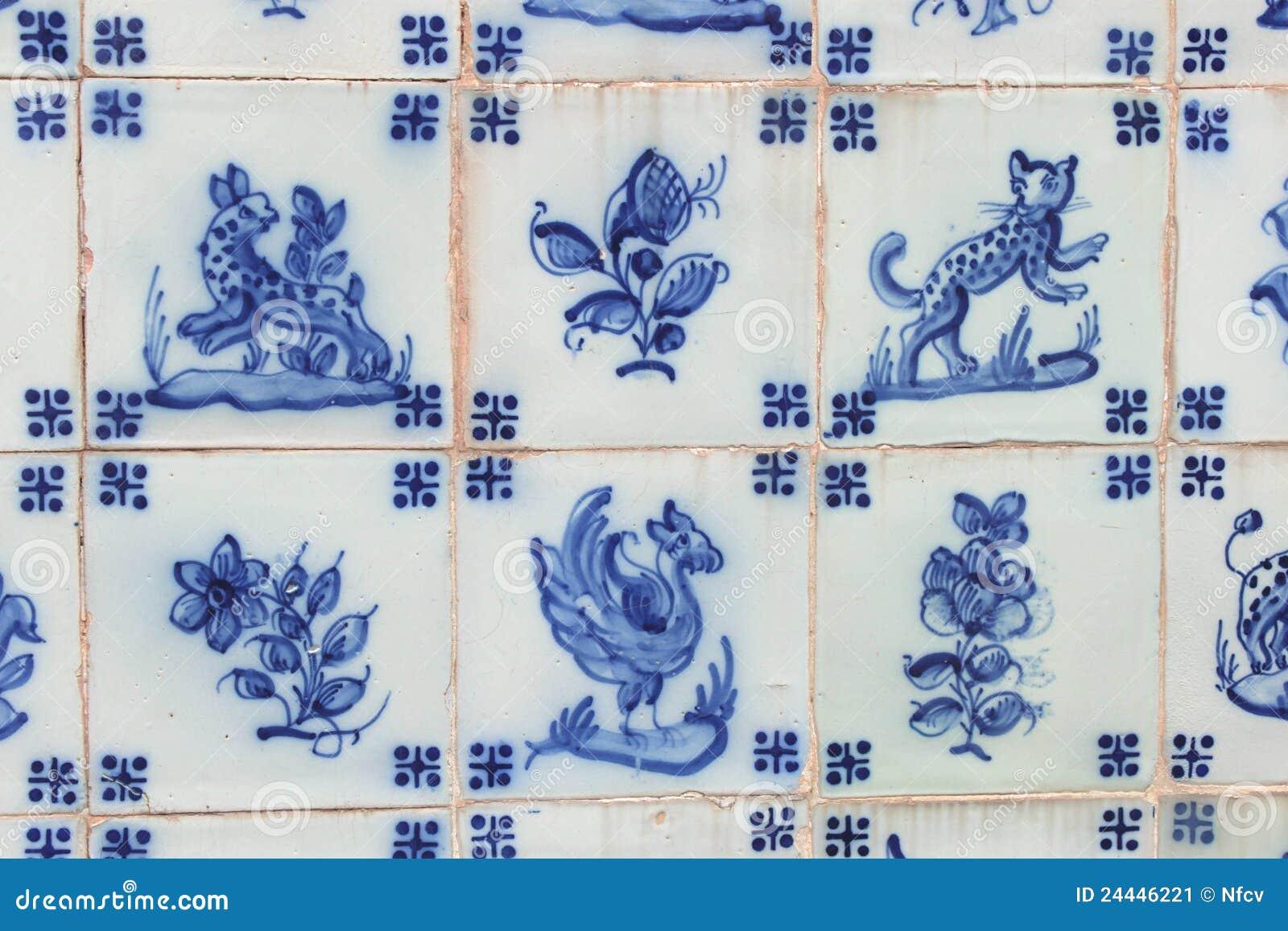 Oude tegel stock afbeelding afbeelding 24446221 - Oude patroon tegel ...