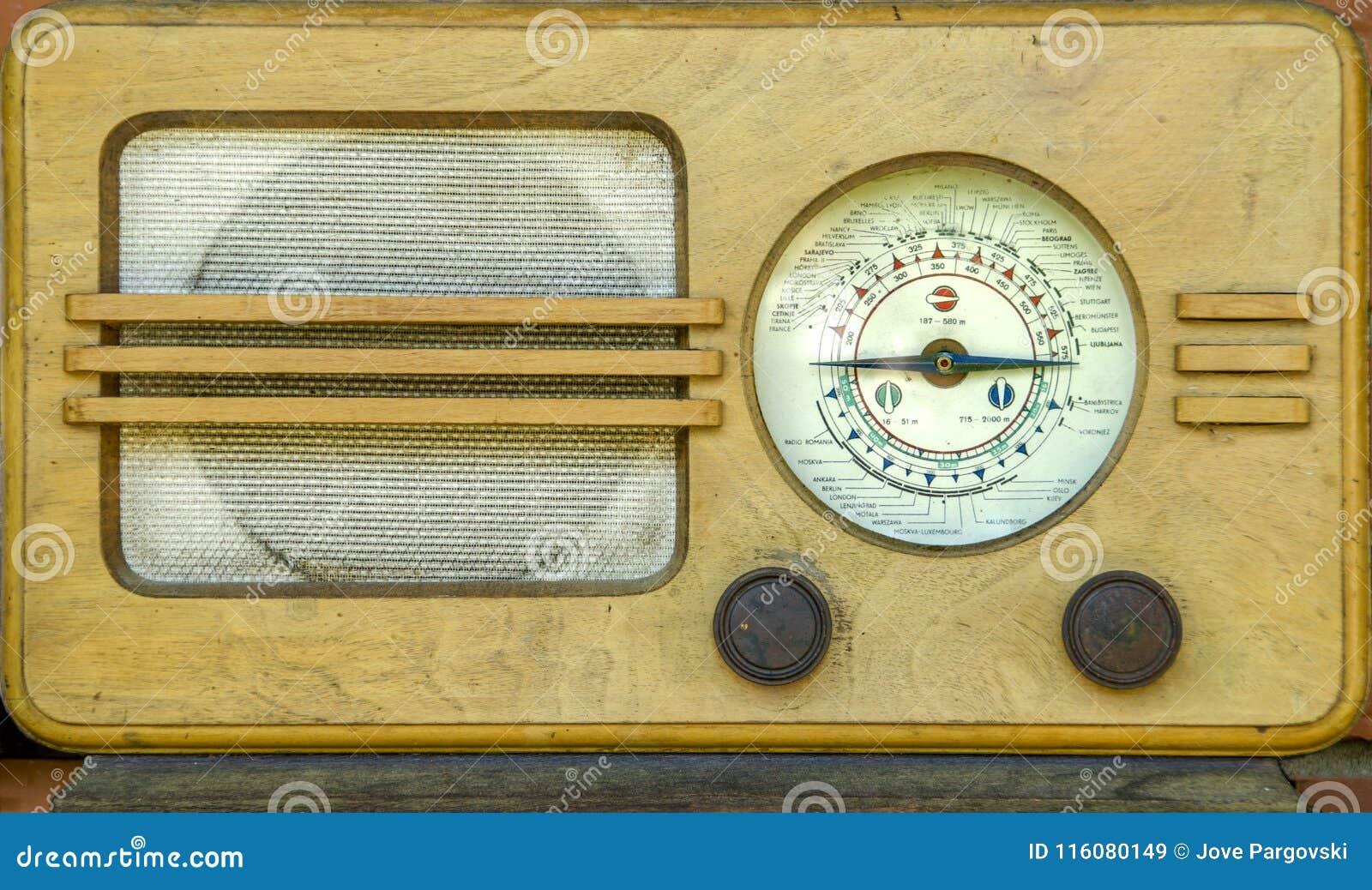 Oude tijdradio