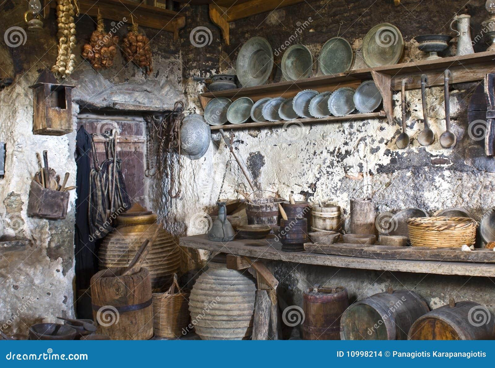 Oude traditionele keuken stock afbeeldingen beeld 10998214 - Traditionele keukens ...