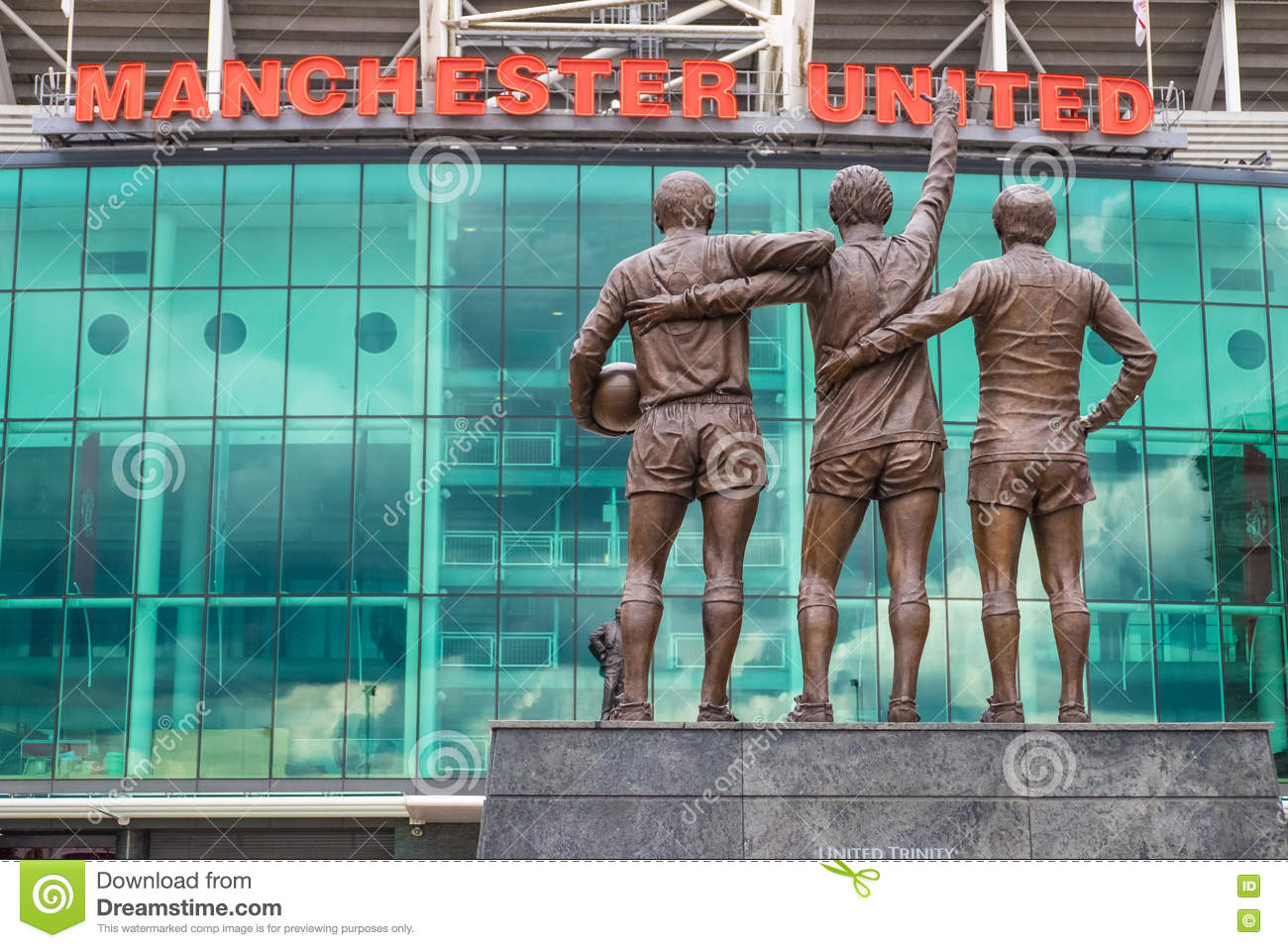 Oude trafford, Manchester United