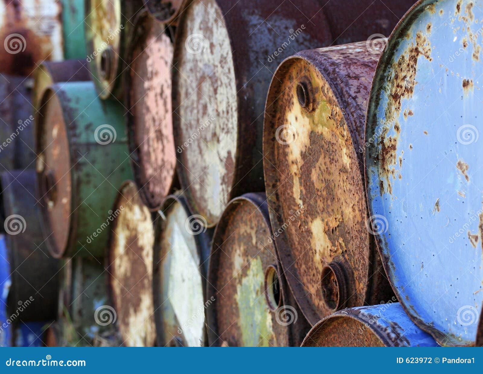 Oude trommels