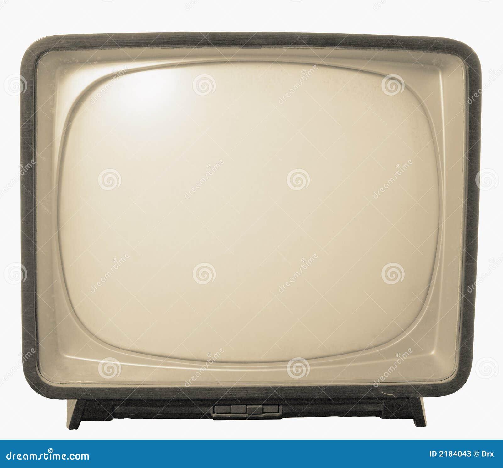 Oude tv retro televisie stock foto 39 s afbeelding 2184043 for Van de tv
