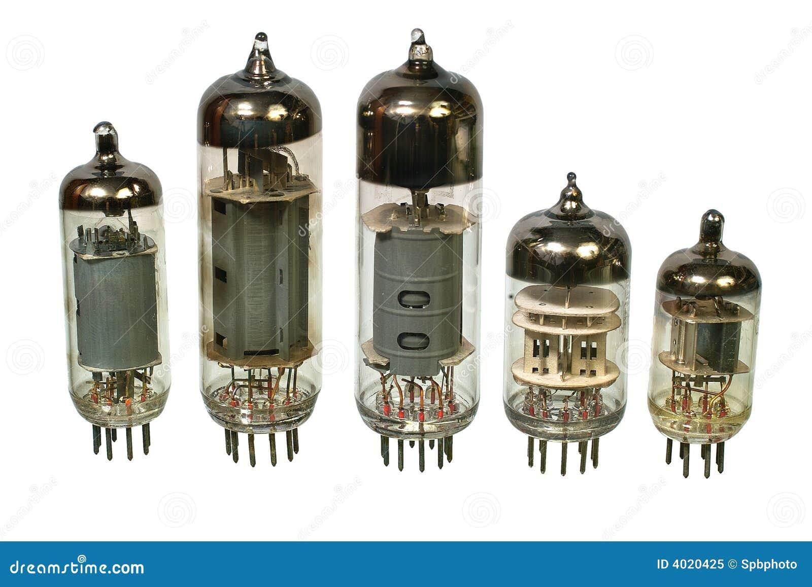 oude vacu u00fcm radiobuizen  stock afbeelding  afbeelding bestaande uit elektro