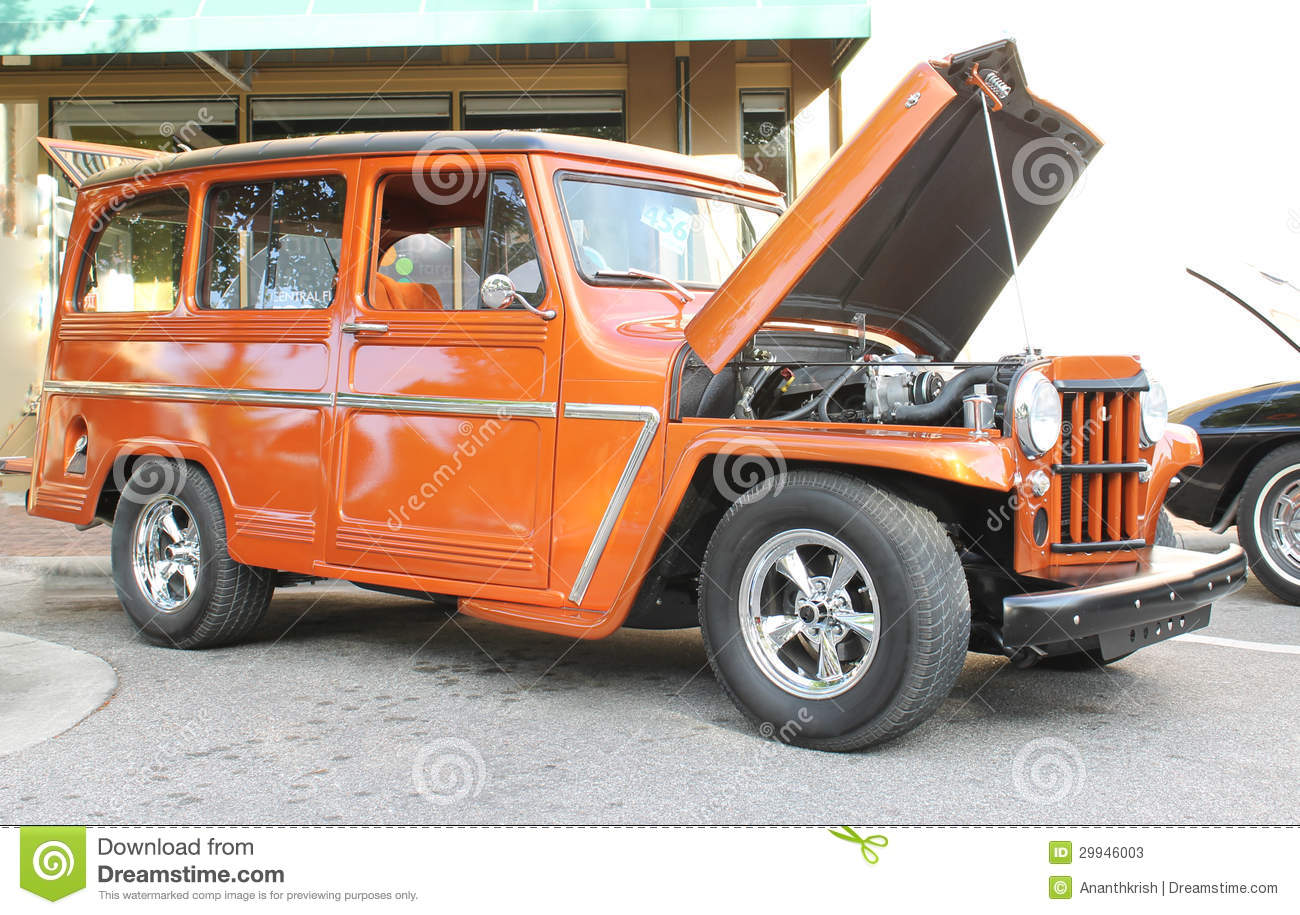 Oude Willys Jeep