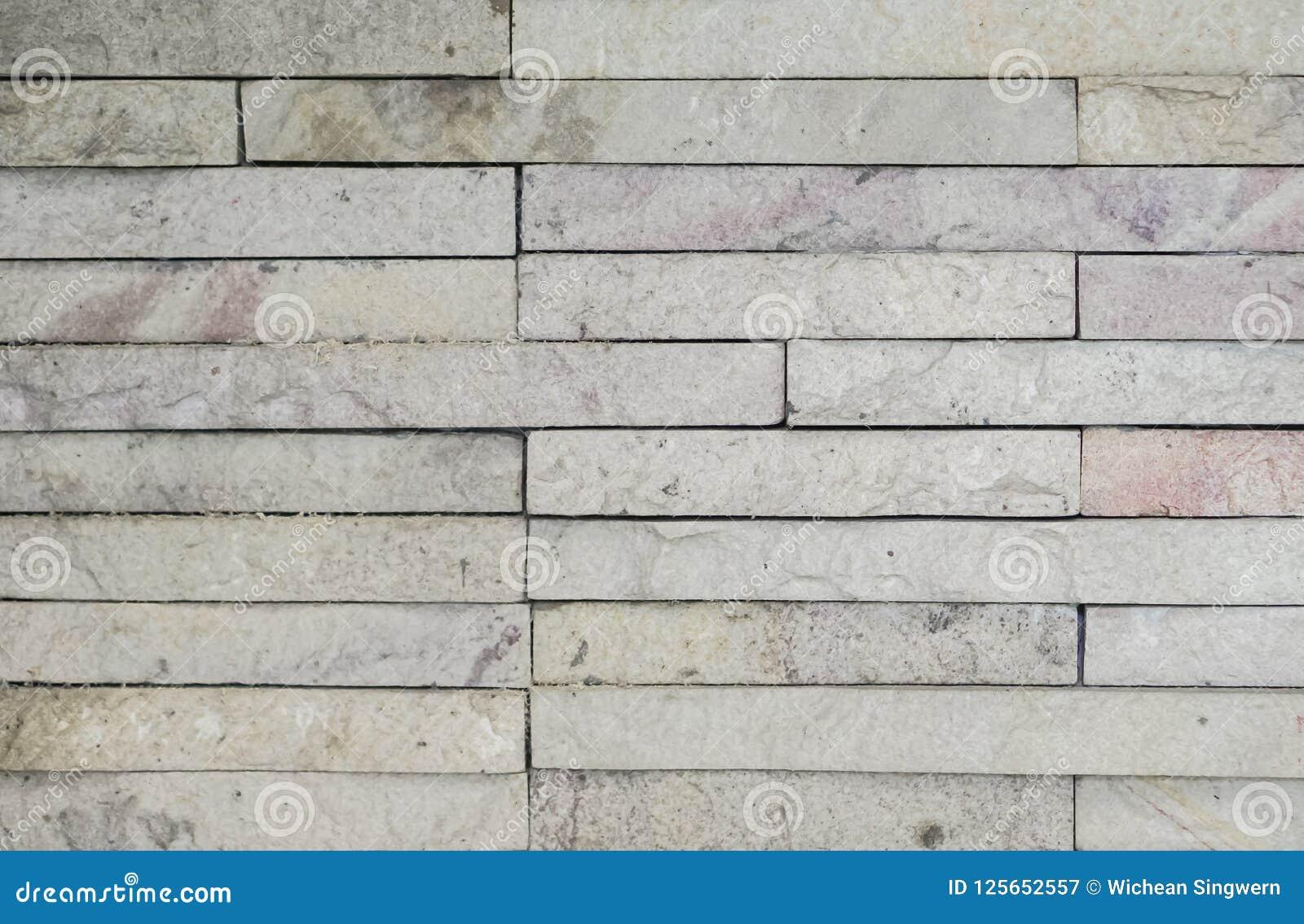 Oude witte bakstenen muurtextuur voor achtergrond